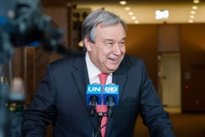 Former Prime Minister of Portugal António Guterres