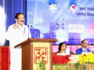 Union Minister for Urban Development Venkaiah Naidu