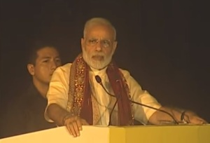 Prime Minister Narendra Modi at Vijaya Dashamai celebrations in Lucknow