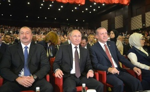 Putin at the World Energy Congress in Istanbul