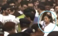 West Bengal Chief Minister Mamata Banerjee led a protest in Kolkata