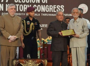 President of India Pranab Mukherjee inaugurated the 77th Session of Indian History Congress at Thiruvananthapuram today (December 29, 2016).