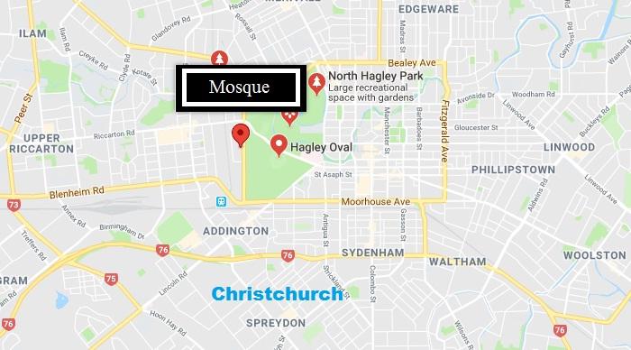 Christchurch Mosque Detail: Shootout At Christchurch Mosques, Multiple Fatalities