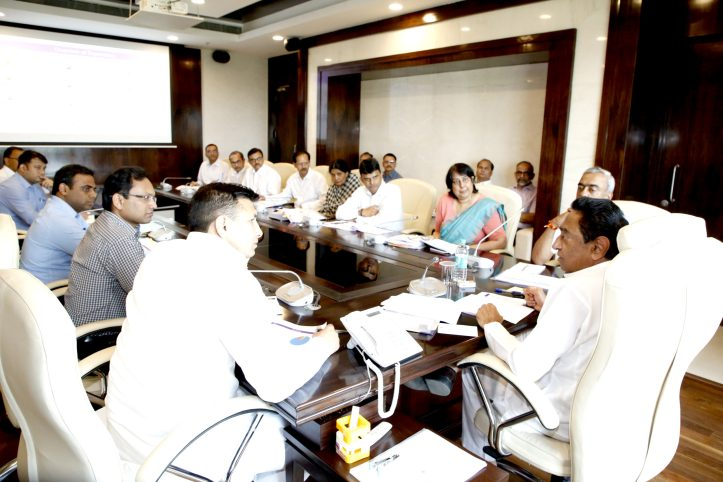 Madhya Pradesh Chief Minister KamalNath reviewed the working of Higher Education Department on Friday 31 May 2019