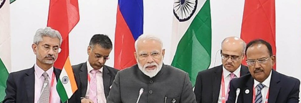 Prime Minister gives opening remarks at the Russia-India-China (RIC) Informal Meeting on the sidelines of G20 Summit 2019 in Osaka