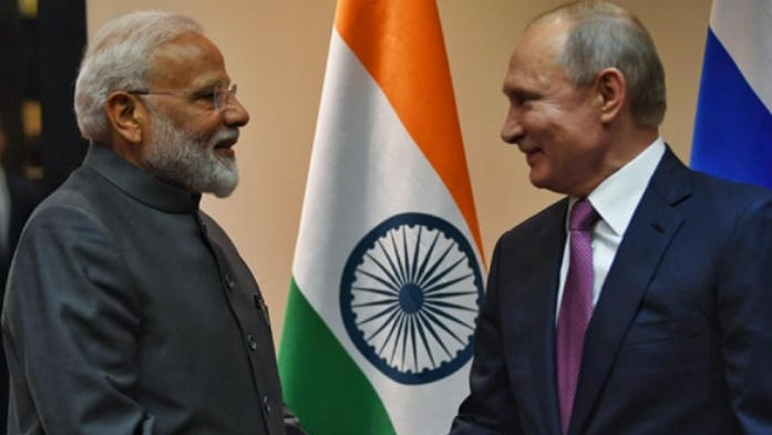 Prime Minister Narendra Modi met President of Russia Vladimir Putin on the sidelines of SCO Summit 2019 in Bishkek on 13 June 2019