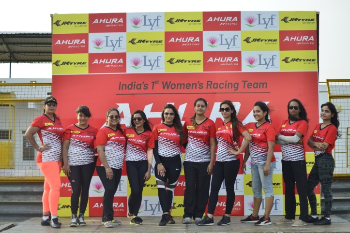 The talented women drivers who have been shortlisted to take part in the JK Tyre-FMSCI National Racing Championship 2019 (JKNRC) under Team Ahura.