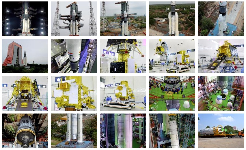 Chandrayaan-2 Mission gallery