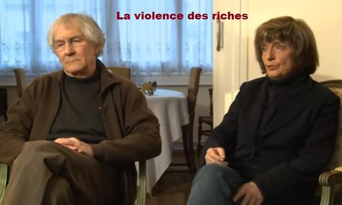 La violence des riches -The authors