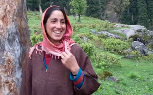 Courtesy - Kashmir: An Earthly Paradise by Wild Frontiers
