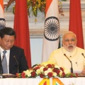 Prime Minister Modi with Chinese PresidentXi Jinping
