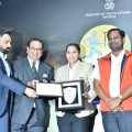 Indian Women's Hockey Team Captain Rani receives the Sports Person of the Year Award 2019